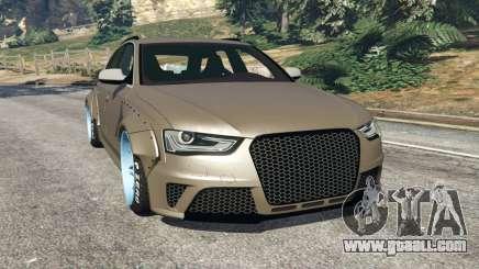 Audi RS4 Avant [LibertyWalk] for GTA 5