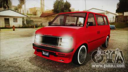 GTA 5 Declasse Moonbeam No Interior IVF for GTA San Andreas