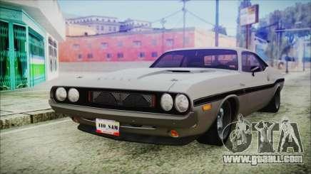 Dodge Challenger RT for GTA San Andreas