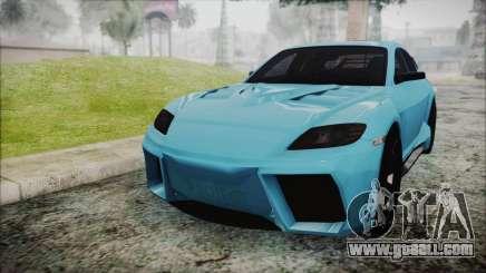 Mazda RX-8 Reventon Itasha Vocaloid Miku for GTA San Andreas