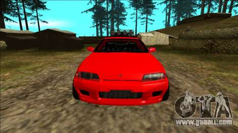 Nissan Skyline R32 Rusty Rebel for GTA San Andreas interior