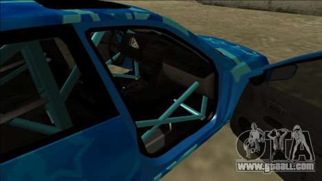 Lexus IS300 Drift Blue Star for GTA San Andreas engine