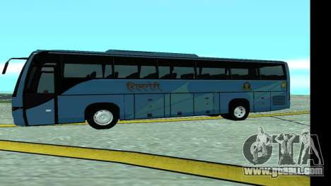 Volvo 9700 JR Indian MSRTC Shivneri for GTA San Andreas left view