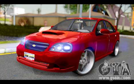 Chevrolet Optra 2007 for GTA San Andreas