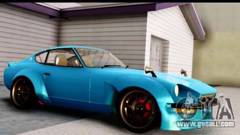 Nissan Fairlady 240Z Rocket Bunny for GTA San Andreas left view