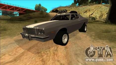 Ford Gran Torino Rusty Rebel for GTA San Andreas engine