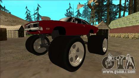 Dodge Charger 1969 Monster Edition for GTA San Andreas left view