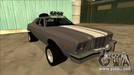 Ford Gran Torino Rusty Rebel for GTA San Andreas