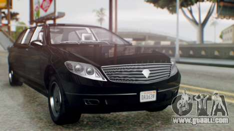 GTA 5 Benefactor Stretch E IVF for GTA San Andreas