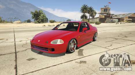 Honda CRX Del Sol for GTA 5