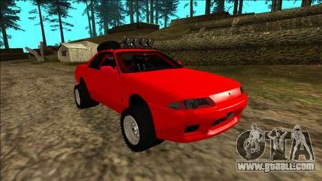Nissan Skyline R32 Rusty Rebel for GTA San Andreas engine