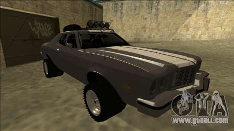 Ford Gran Torino Rusty Rebel for GTA San Andreas left view