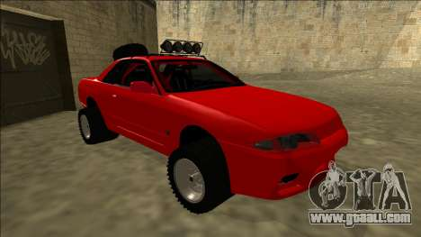 Nissan Skyline R32 Rusty Rebel for GTA San Andreas left view