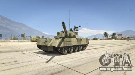 T-80U for GTA 5