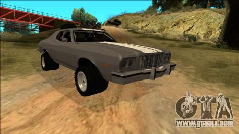 Ford Gran Torino Rusty Rebel for GTA San Andreas wheels