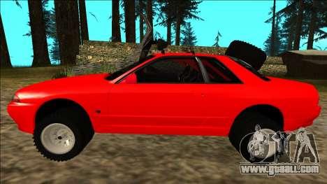 Nissan Skyline R32 Rusty Rebel for GTA San Andreas