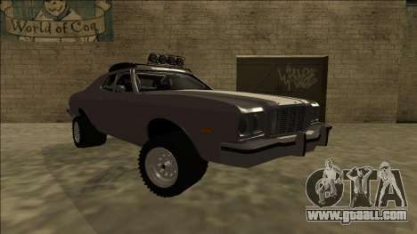 Ford Gran Torino Rusty Rebel for GTA San Andreas right view