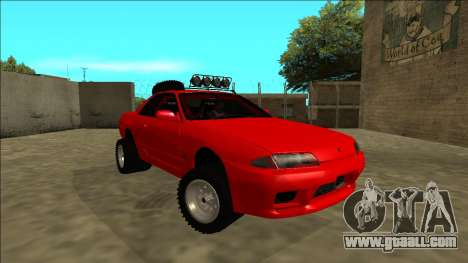 Nissan Skyline R32 Rusty Rebel for GTA San Andreas right view