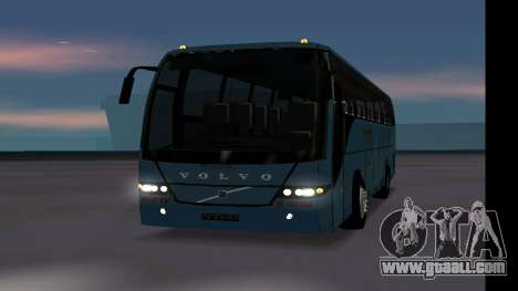 Volvo 9700 JR Indian MSRTC Shivneri for GTA San Andreas right view