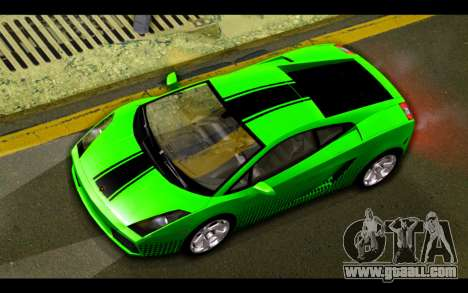 Lamborghini Gallardo for GTA San Andreas engine