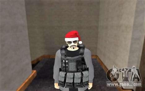 New bulletproof vest for GTA San Andreas