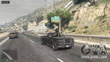 GTA 5 Everyone is a Taxi second screenshot