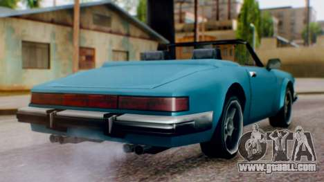 Updated Comet for GTA San Andreas left view
