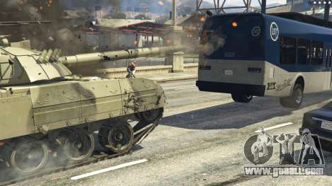 GTA 5 T-80U rear right side view