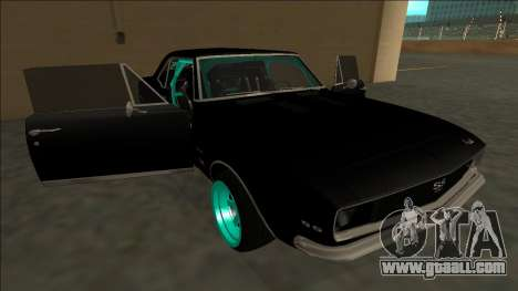 Chevrolet Camaro SS Drift for GTA San Andreas engine