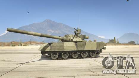 GTA 5 T-80U left side view