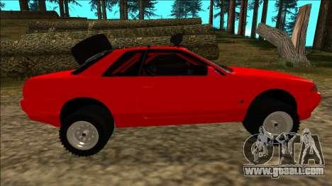 Nissan Skyline R32 Rusty Rebel for GTA San Andreas wheels