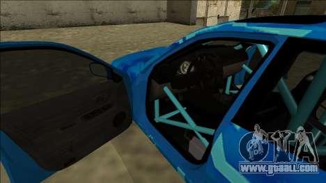 Lexus IS300 Drift Blue Star for GTA San Andreas wheels