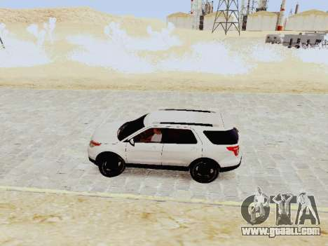 Ford Explorer 2013 Semi-Tuning for GTA San Andreas left view