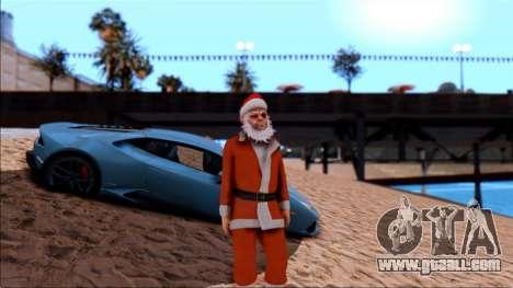 HD textures of the beach for GTA San Andreas third screenshot