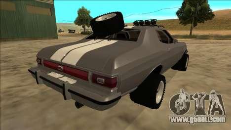 Ford Gran Torino Rusty Rebel for GTA San Andreas
