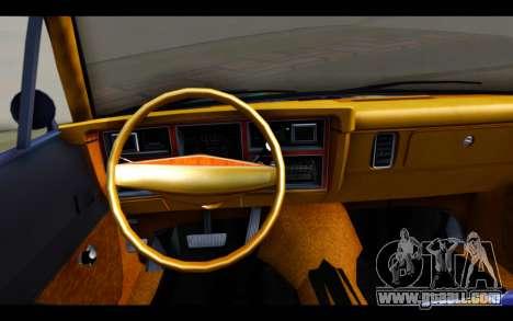 Dodge Dart 1975 v2 Estilo Rusty for GTA San Andreas back left view