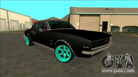 Chevrolet Camaro SS Drift for GTA San Andreas back view