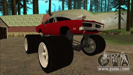 Dodge Charger 1969 Monster Edition for GTA San Andreas