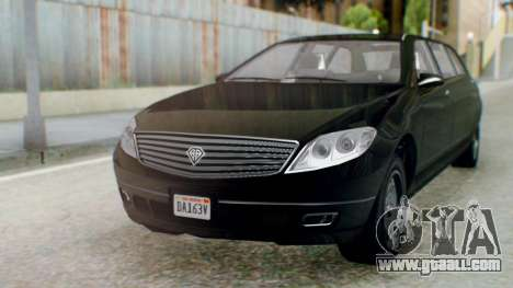 GTA 5 Benefactor Stretch E IVF for GTA San Andreas back left view