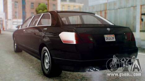 GTA 5 Benefactor Stretch E IVF for GTA San Andreas left view