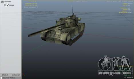 GTA 5 T-80U wheel