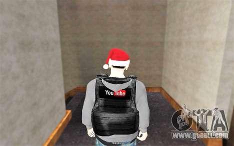 New bulletproof vest for GTA San Andreas third screenshot