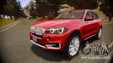 BMW X5 2014 for GTA 4