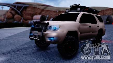 Toyota 4runner 2009 Full Off-Road for GTA San Andreas