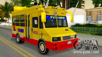 Iveco Turbo Daily Buseton for GTA San Andreas