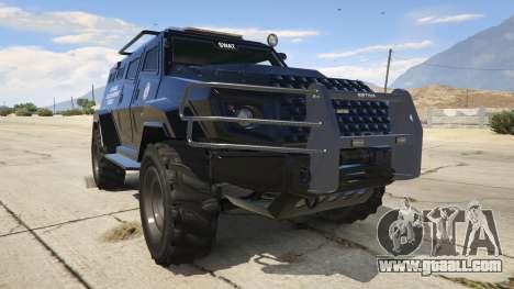 LAPD SWAT Insurgent for GTA 5