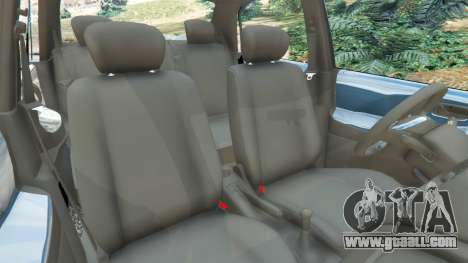 GTA 5 Suzuki Liana right side view