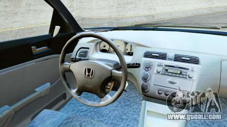 Honda Civic Vtec 2 for GTA San Andreas back left view
