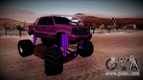 GTA 4 Cavalcade FXT Monster Truck for GTA San Andreas right view