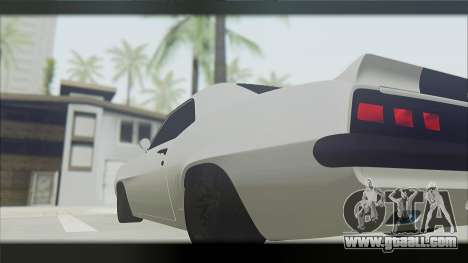 Chevrolet Camaro Z28 1969 Special Edition for GTA San Andreas back left view